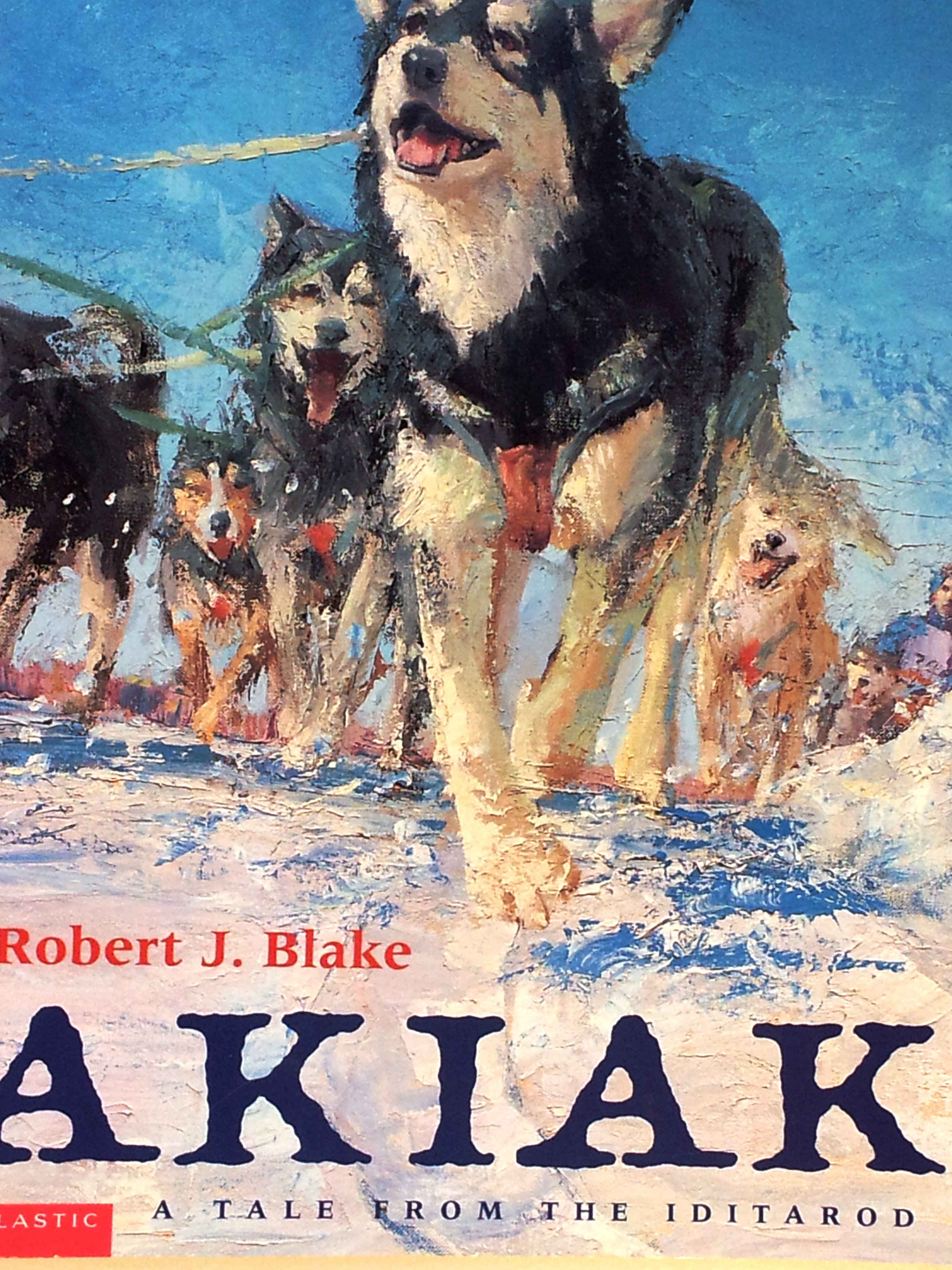 Book Review Akiak A Tale From The Iditarod