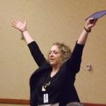 Outstanding Presenter, Erin Anderson