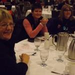 Teachers at the banquet...