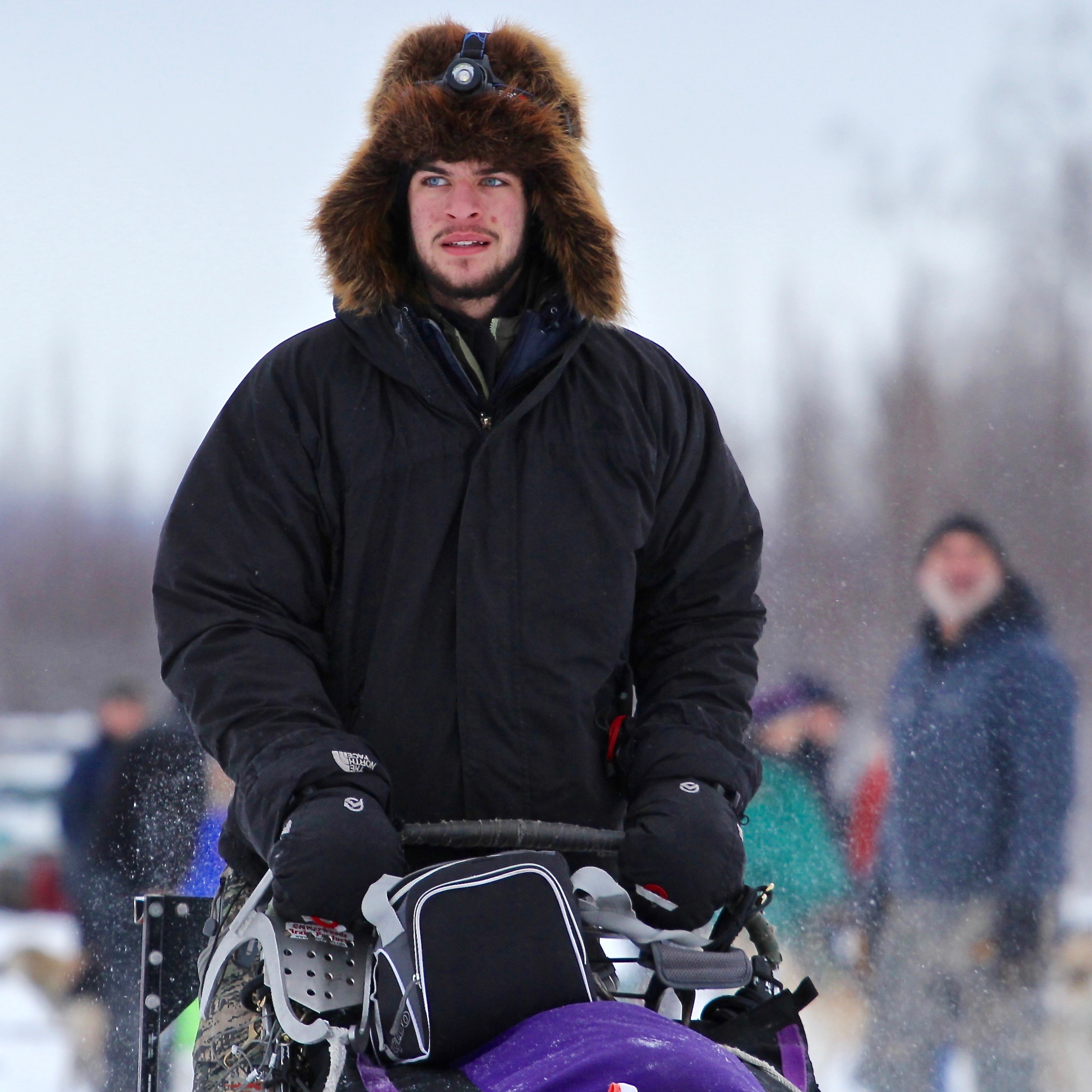 insider features paige drobny and noah pereira iditarod noah pereira at the start of 2015 northern lights 300