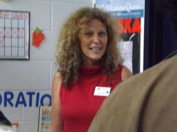 Cathy Walters, 2009 Iditarod Teacher on the Trail