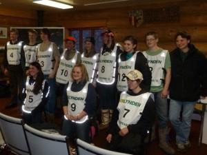 2012 Jr. Iditarod Mushers