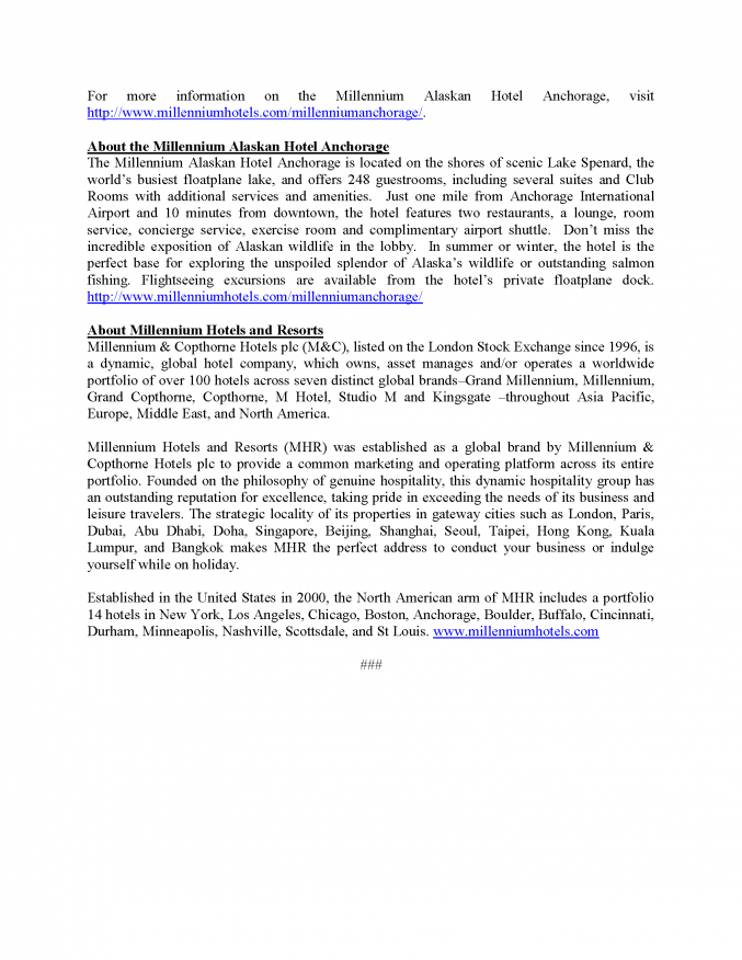 2013 IDITAROD PRESS RELEASE - MUSH TO THE MILLENNIUM EVENT_Page_2
