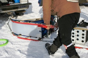 changing sled runner plastic2010