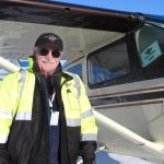 Jerry Wortley Cessna 180 Iditarod Air Force
