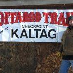 Richard Burnham at the checkpoint Iditarod 2017