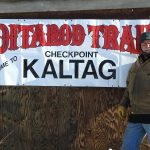Richard Burnham at the checkpoint Iditarod 2017