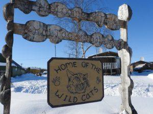Kaltag, Alaska Wildcats sign