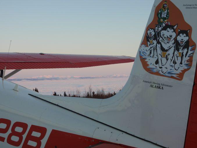Koyuk Iditarod Plane