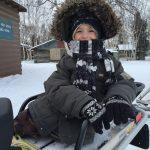 Huslia boy Iditarod 2017
