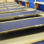 Kaltag Iditarod musher cots