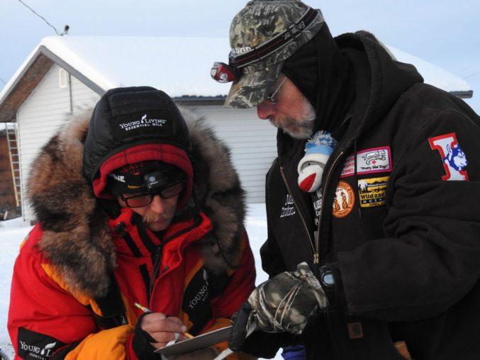 Mitch Seavey first to Kaltag Iditarod 2017