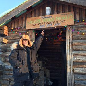 Tanana Checkpoint Iditarod 2017