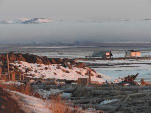 Unalakleet Bering Sea Coast Alaska Iditarod