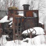 Steam Powered Caterpillar Tractor Iditarod