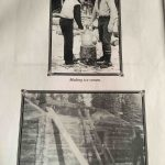 Historical photos of the original Rohn shelter cabin Iditarod 2018